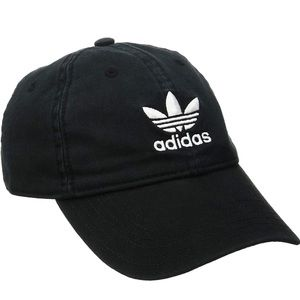 Unisex Black Adidas Hat
